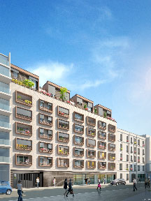 Programme Bouygues Immobilier à Paris 19