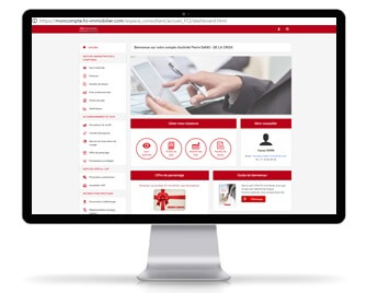 home page compte extranet fci